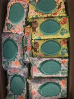Assorted Pampers wipes for Sale in Bronx, NY