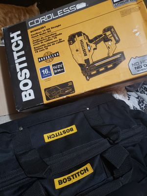 Cordless Bostitch nailgun for Sale in Columbus, OH