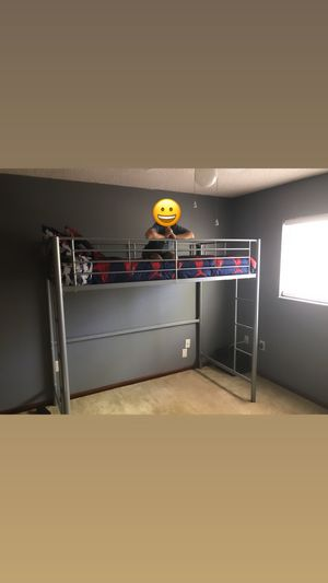 Loft bunk bed + twin mattress for Sale in Spring Hill, FL