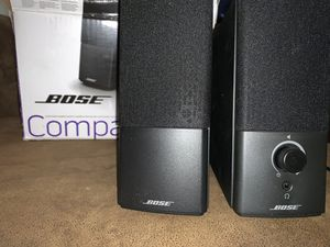 BRAND NEW PREMIUM BOSE COMPANION 2 SURROUND SOUND SPEAKERS TO UPGRADE YOUR LAPTOP, COMPUTER, TV OR AUDIO DEVICE. AMAZING SPEAKERS THATS BRAND NEW AND for Sale in Show Low, AZ