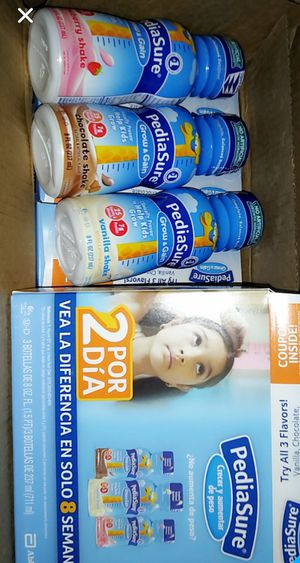 Pediasure/Variety packs for Sale in East Los Angeles, CA