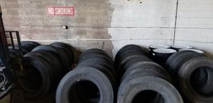 Semi trucks and trailers good used tires for Sale in Camden, NJ