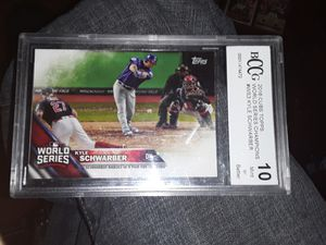 World Series graded baseball card grade 10 for Sale in New Albany, IN