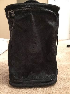Black kipling carry on suitcase. for Sale in Cleveland, OH