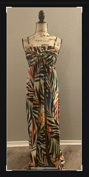 Tropical Soma Summer Dress - Med. plenty of stretch. Soft n' comfy. Great condition Measurements: B30-32 in (stretch), W 38 in., L approximatel for Sale in Fort Worth, TX