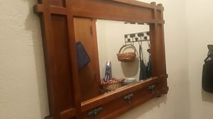 Real wooden entry mirror for Sale in Richmond, CA