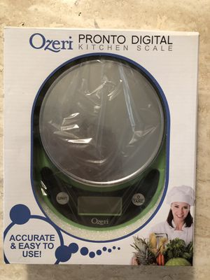 NEW Digital Food Scale Ozeri ZK14-L Pronto Multifunction Kitchen Elegant LCD Screen- for Sale in Palmdale, CA