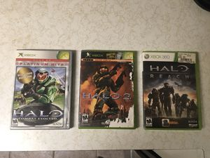 Halo 1, 2, and Reach for Sale in West Chester, PA