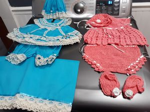 Baby/ Doll hand sewn dresses for Sale in Nashville, TN