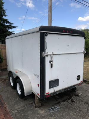 6x12 enclosed utility trailer for Sale in Tacoma, WA