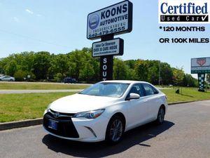 2017 Toyota Camry for Sale in Fredericksburg, VA