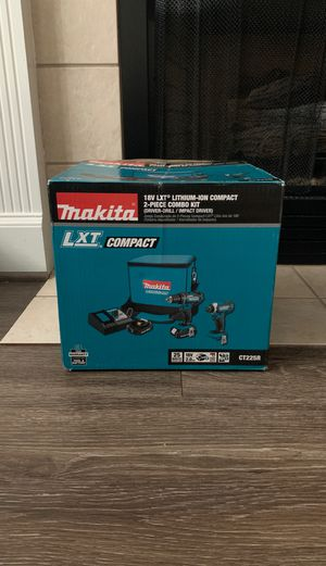 18V LXT Lithium-ion Compact 2 piece Combo Kit (Drover Drill/Impact Driver) for Sale in Leesburg, VA