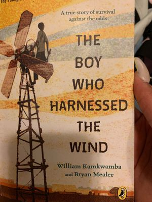The boy who harnessed the wind, paperback for Sale in Charlotte, NC