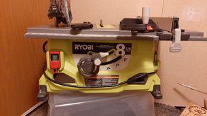 Ryobi 8 1/4 13amp table saw for Sale in Pelzer, SC