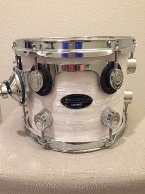 "PDP CX White Onyx Rack Tom Drum 10"" w/holder for Sale in Gresham, OR"