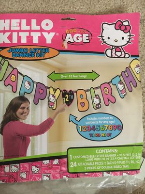 Hello Kitty Bday party decor for Sale in Rocky Hill, CT