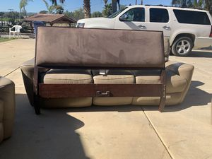 Queen bed headboard and frame for Sale in Bonita, CA