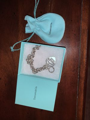 Tiffany charm heart bracelet for Sale in Montclair, CA