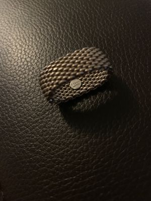Tiffany & Co. Sterling Silver Mesh Ring for Sale in Scottsdale, AZ