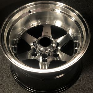Brand new 15x10 -44 offset off-road truck wheels polished black wheels 6x139 all 4 READ DESCRIPTION! PRICE FIRM! for Sale in West Covina, CA