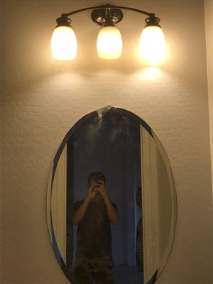 Vanity oval mirror for Sale in Gilbert, AZ