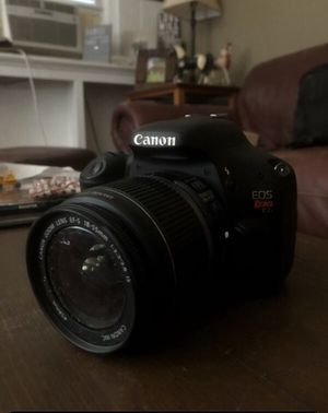 Cannon rebel T2I camera for Sale in Plymouth, CT