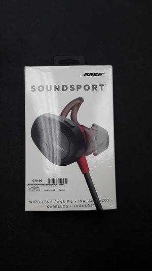 Bose SoundSport Wireless In-Ear Headphones for Sale in Fort Lauderdale, FL