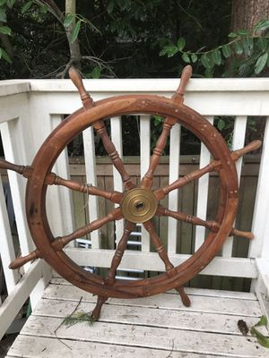 Captains wheel make offer cheap stuff if you have buck your in luck for Sale in Tukwila, WA
