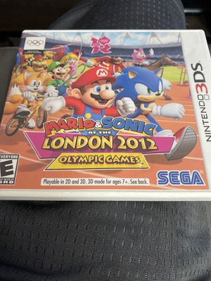 Mario and sonic 2012 Olympic Games for Sale in Santa Ana, CA