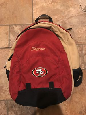 Jansport sf 49ers backpack for Sale in Tracy, CA