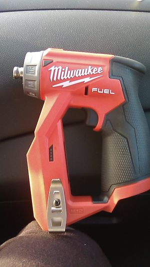 """Milwaukee M12 Fuel ⅜"""" Installation Grill Driver Brand New for Sale in Cleveland, OH"""