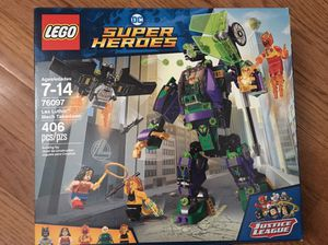 LEGO 76097 Lex Luthor Mech Takedown $20 for Sale in Arlington, VA