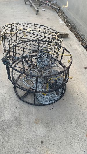 3 crab pots.... 2 comercial grade and a smaller pot for Sale in Livermore, CA