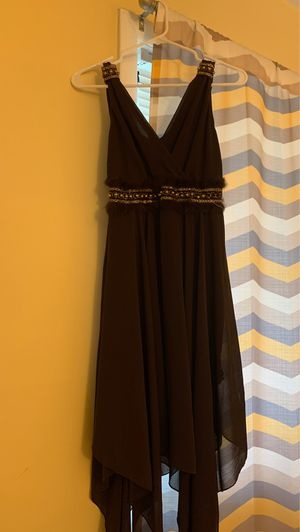 Brown dress medium size for Sale in Monroe Township, NJ