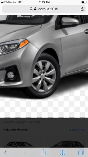 Toyota Corolla wheels with new tire for Sale in Avon Park, FL