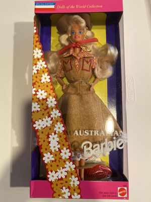Barbie Australian Dolls of the World Collection for Sale in Torrance, CA