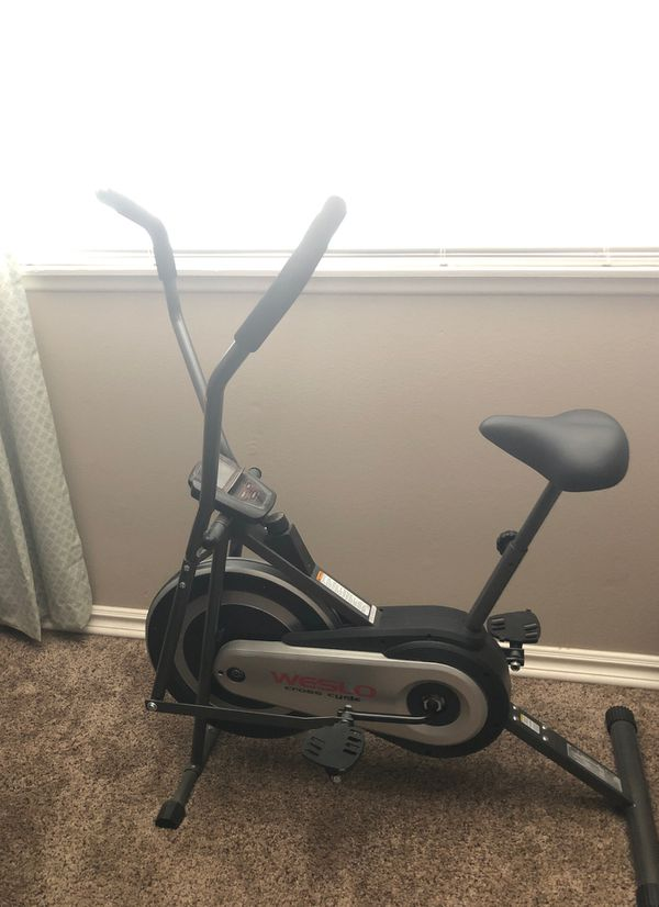Weslo cross cycle exercise bike for sale