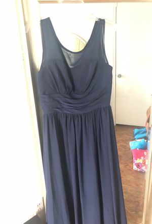 Navy long bridesmaid dress - Christina Wu size 10 for Sale in Bellaire, TX