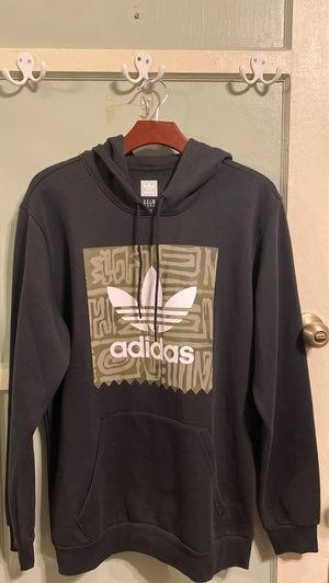 Adidas black hoodie size M for Sale in Ontario, CA
