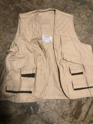 VTG Weather Rite Black Fishing Photographer Vest Men's 2XL for Sale in San Bernardino, CA