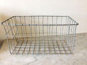 Farmhouse decor metal basket for Sale in El Cajon, CA
