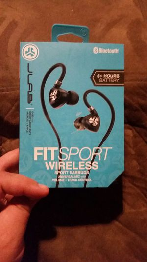 Fitsport wireless headphones for Sale in O'Fallon, MO
