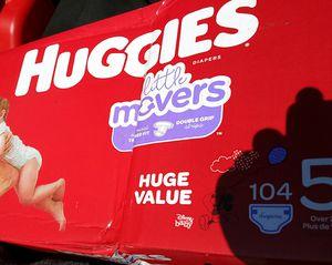 Huggies size 5 for Sale in Escondido, CA