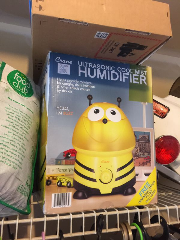 Used humidifier