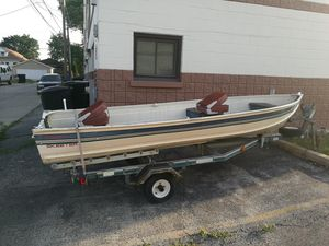16ft aluminium fishing boat for Sale in Chicago, IL