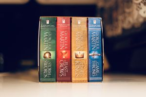 New Box Set of Game of Thrones Books for Sale in Freeport, NY