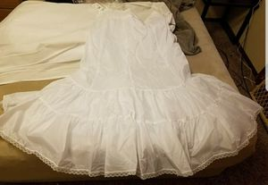 Fit and flare slip for underneath wedding dress for Sale in Wichita, KS
