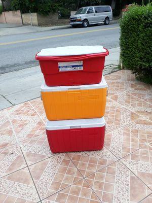 3 coolers for Sale in El Monte, CA