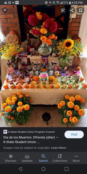 Flores para el dia de los muertos for Sale in Chicago, IL