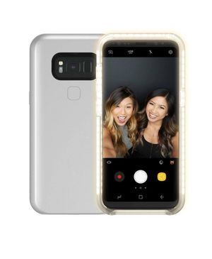 Light Up Selfie Phone Case for Samsung Galaxy S8 for Sale in Boiling Springs, SC